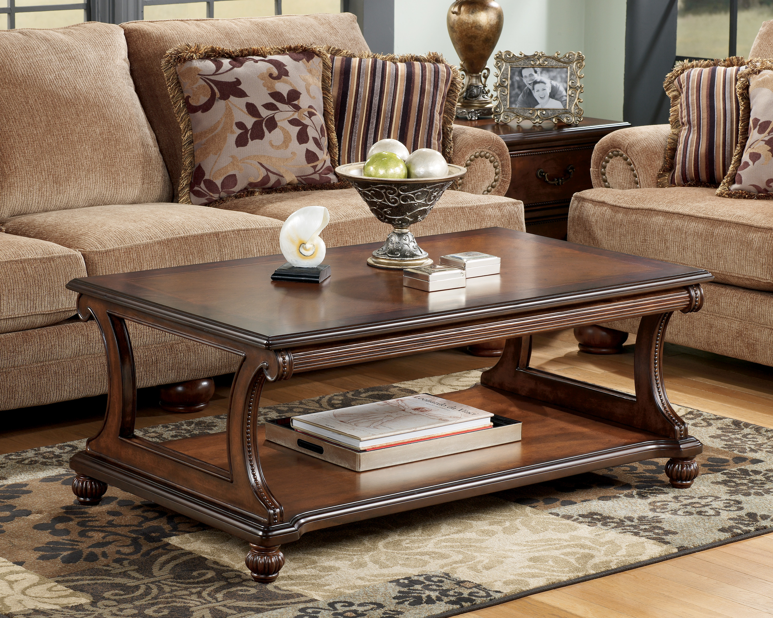 Charmant T489 1 Ashley Cocktail Table | Zarco Furnishings